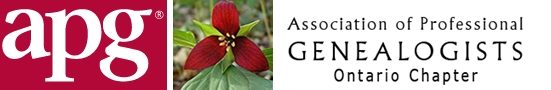 Ontario Chapter Association of Professional Genealogists